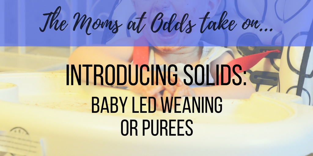 Baby led weaning puree food debate pros cons