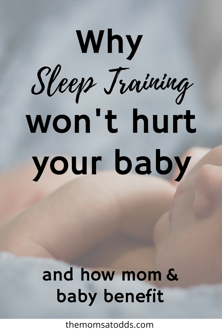 How turning to sleep training is perfectly OK for both mom and baby!! I'm so sleep deprived... so pin now and read later!