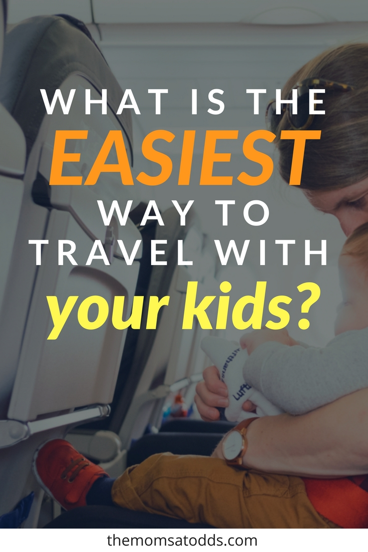 Plane? Train? Automobile? An AMAZING comparison of driving vs flying with kids.