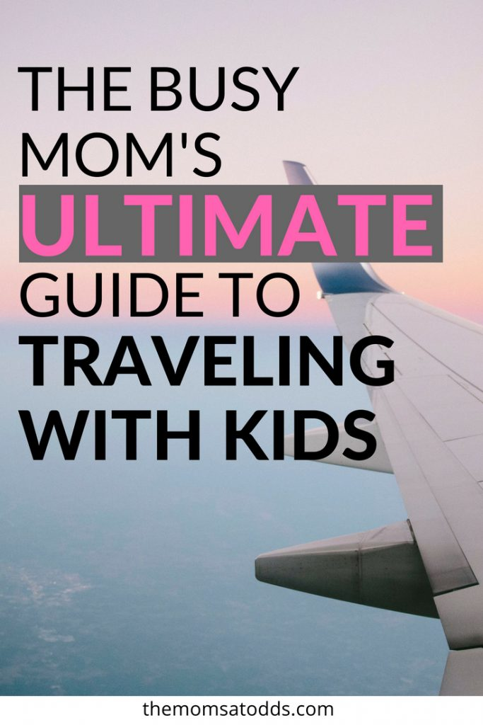 Great tips for traveling with kids