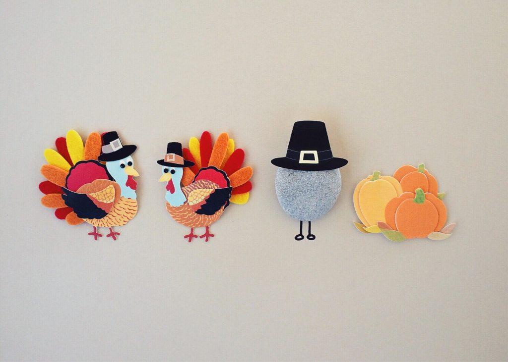 Cute thanksgiving turkey crafts