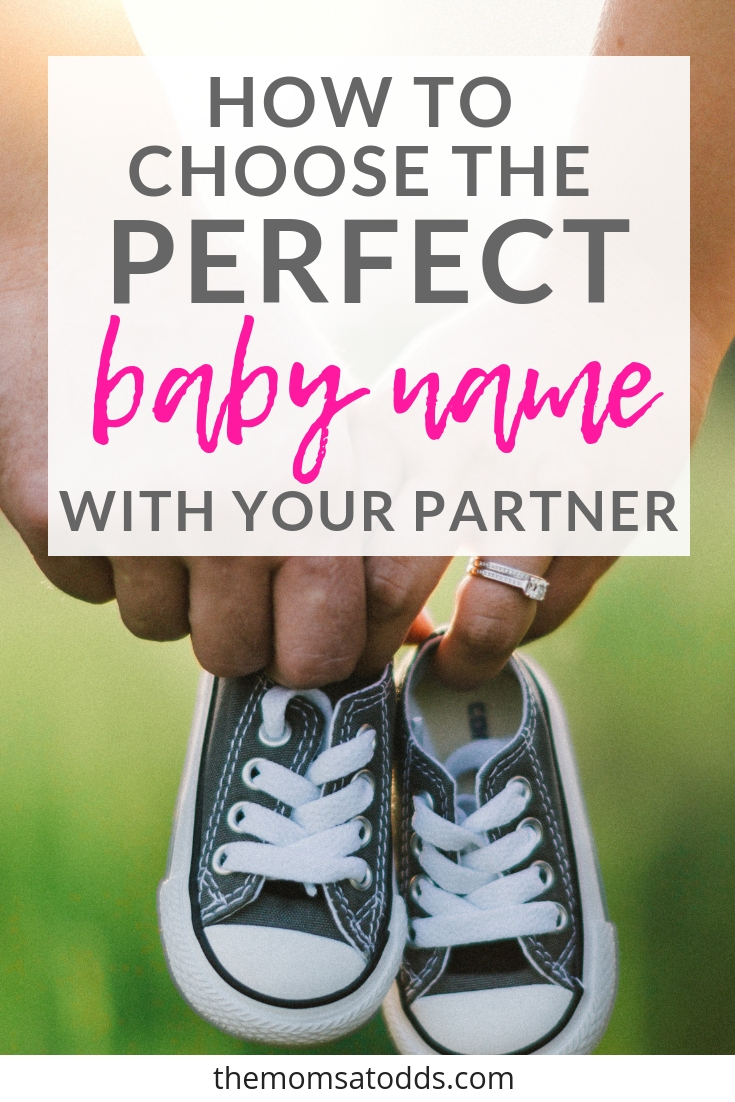 How to Pick Baby Names When You and Your Partner Can't Agree
