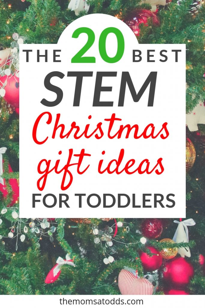 The 20 Best STEM Gift Ideas for Smart Toddler, Babies, and Kids Under 3. So hard to find STEM toys for young kids - this is a great list!