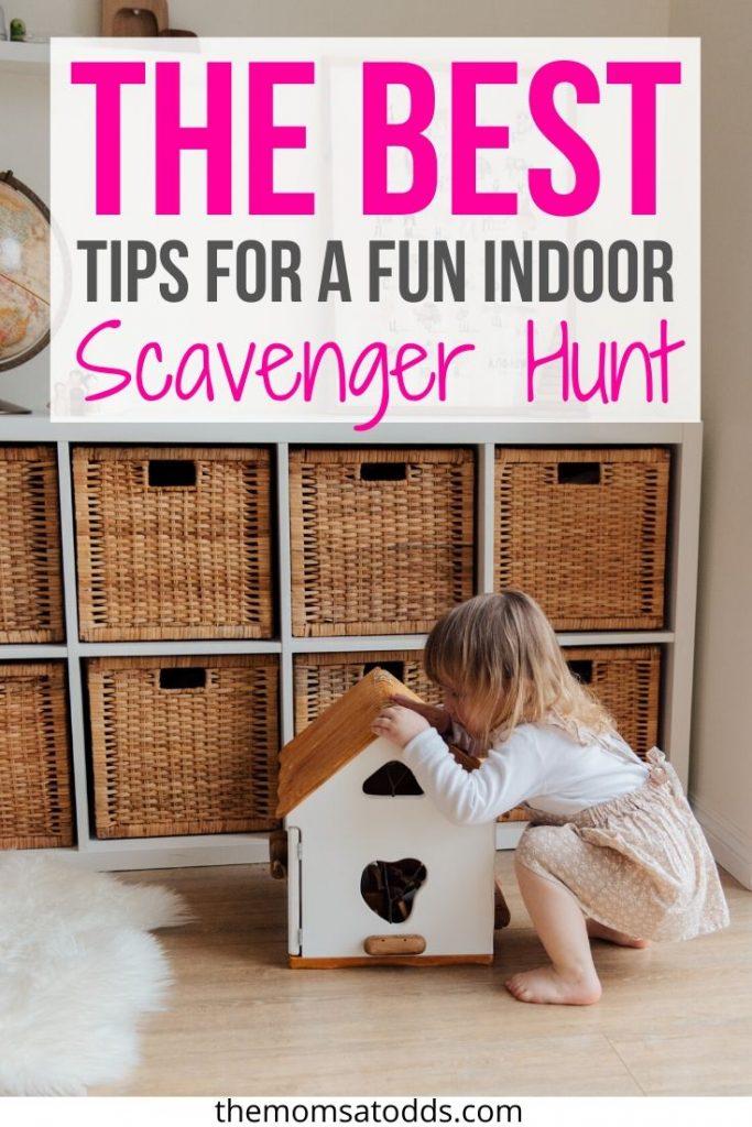 How to make the best Indoor Scavenger hunt for kids