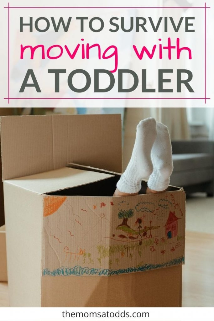 14 Ways to Help Survive Moving With a Toddler