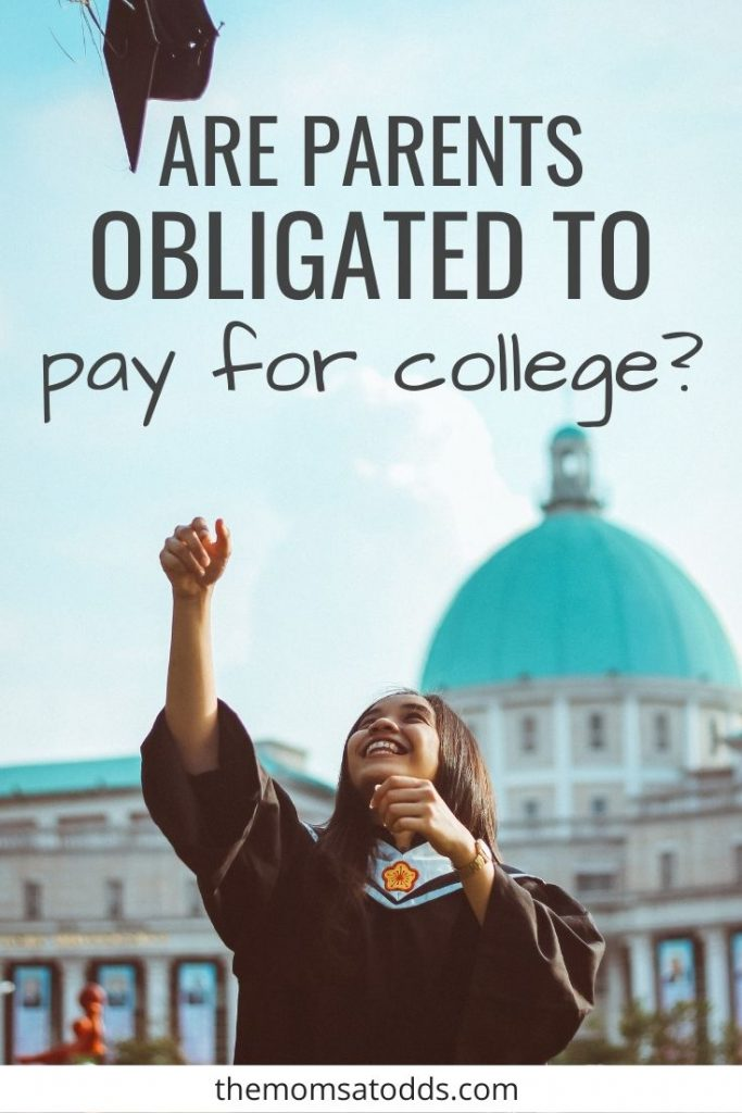 Should Parents Pay for College for Their Kids?
