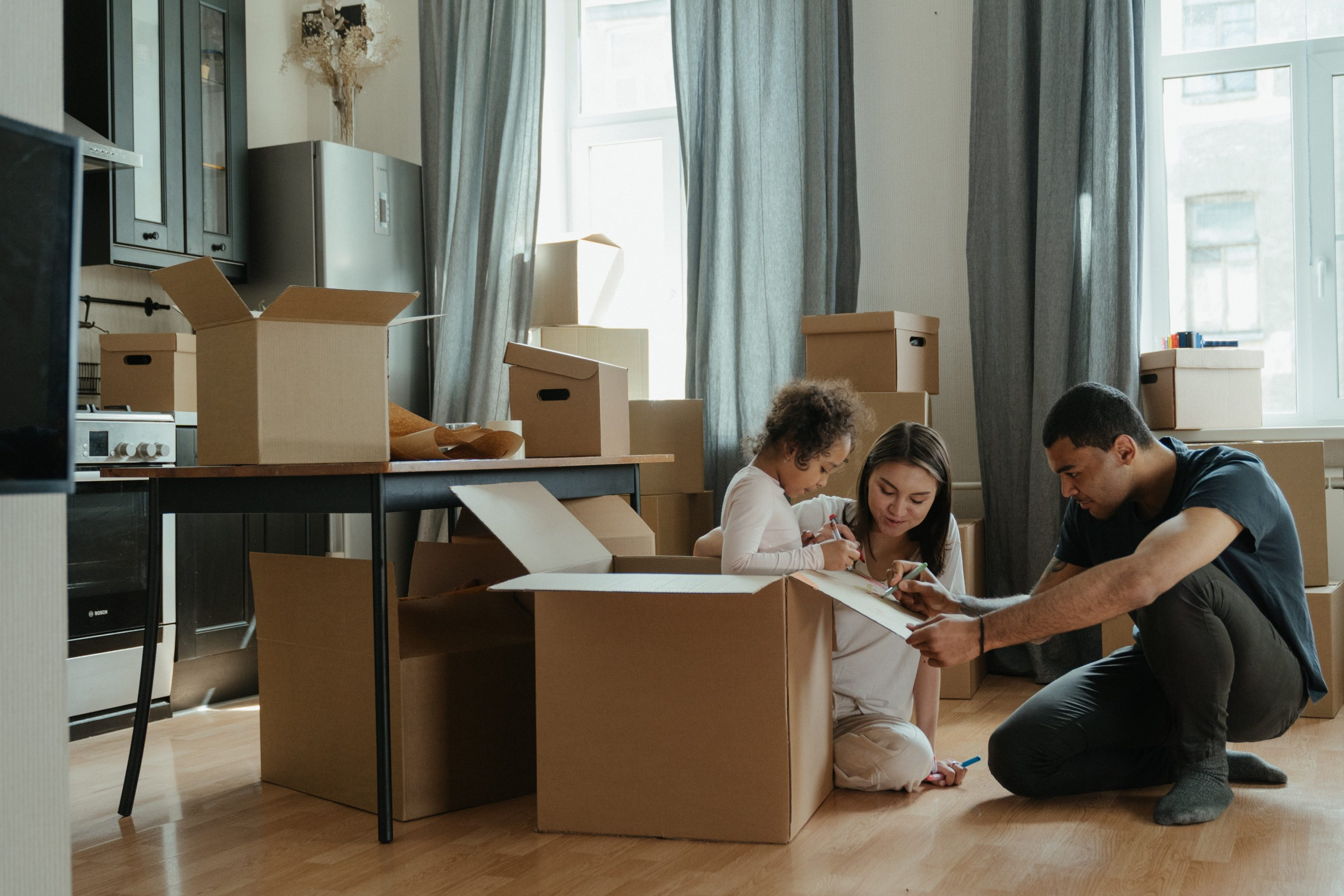 How to Survive Moving With a Toddler