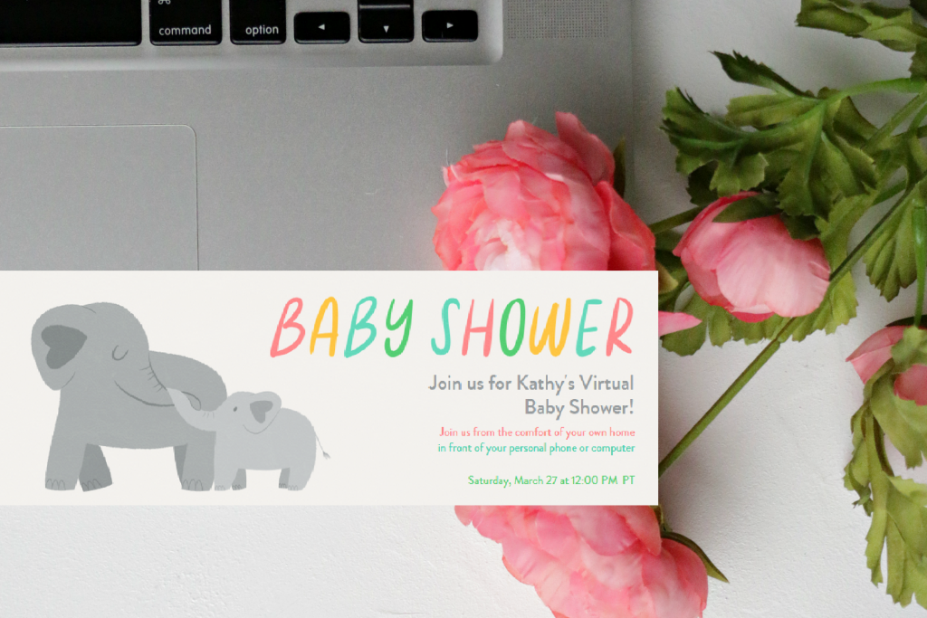 How to Host the Most Lively and Fun Virtual Baby Shower