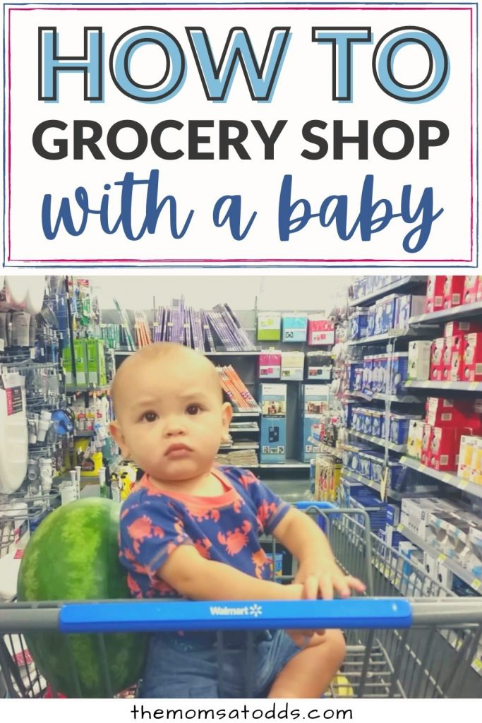 Everything Moms Need to Know About How to Grocery Shop With a Baby