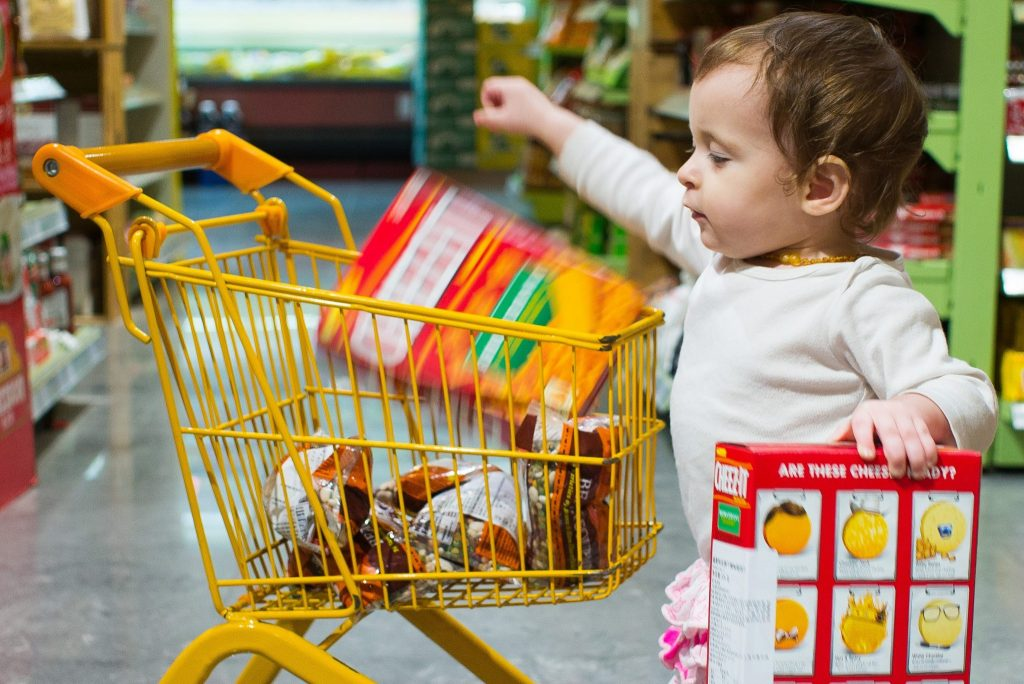 If you've attempted grocery shopping with a toddler, you'll know it's no easy task.