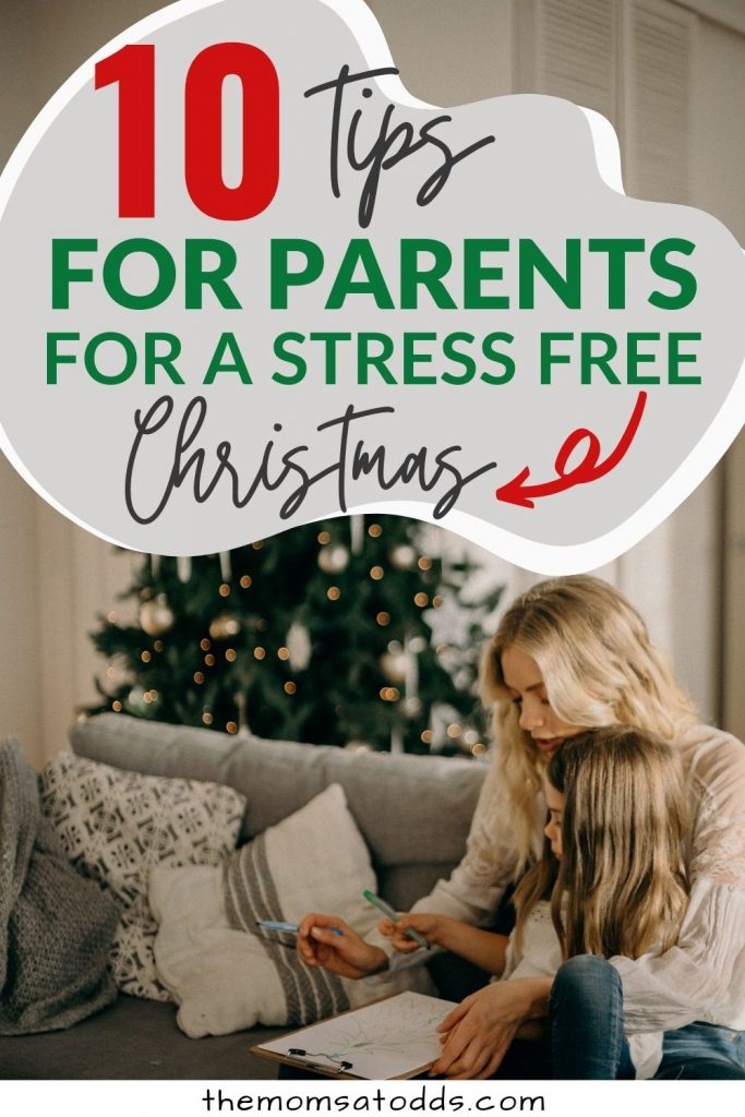 10 Holiday stress tips for parents for a stress free Christmas