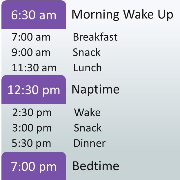 A Standard 3 Year Old Sleeping Schedule