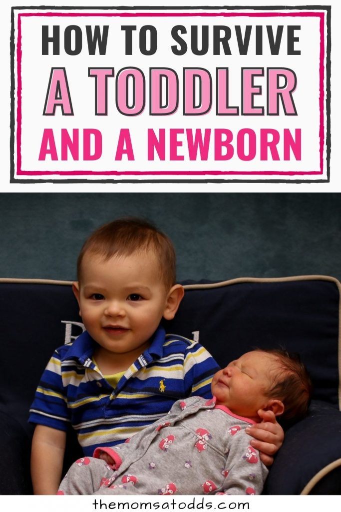 How to Survive a Toddler and Newborn: The Survival Guide
